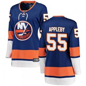 Fanatics Branded Kenneth Appleby New York Islanders Women's Breakaway Home Jersey - Blue