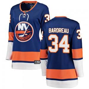 Fanatics Branded Cole Bardreau New York Islanders Women's Breakaway Home Jersey - Blue