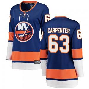Fanatics Branded Bobo Carpenter New York Islanders Women's Breakaway Home Jersey - Blue