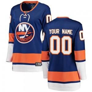 Fanatics Branded Custom New York Islanders Women's Breakaway Home Jersey - Blue