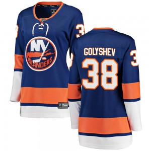 Fanatics Branded Anatoli Golyshev New York Islanders Women's Breakaway Home Jersey - Blue