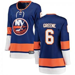 Fanatics Branded Andy Greene New York Islanders Women's Breakaway Home Jersey - Blue