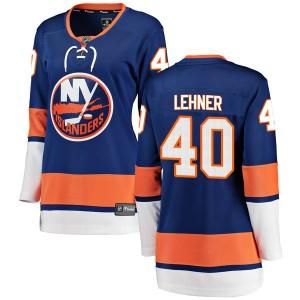 Fanatics Branded Robin Lehner New York Islanders Women's Breakaway Home Jersey - Blue