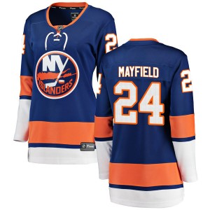 Fanatics Branded Scott Mayfield New York Islanders Women's Breakaway Home Jersey - Blue