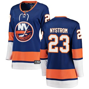 Fanatics Branded Bob Nystrom New York Islanders Women's Breakaway Home Jersey - Blue