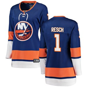 Fanatics Branded Glenn Resch New York Islanders Women's Breakaway Home Jersey - Blue