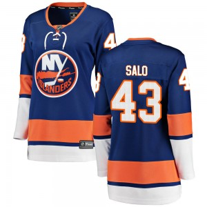 Fanatics Branded Robin Salo New York Islanders Women's Breakaway Home Jersey - Blue