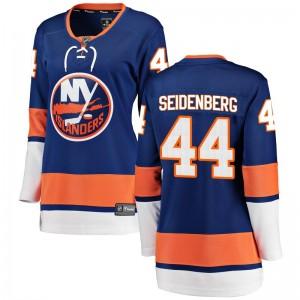 Fanatics Branded Dennis Seidenberg New York Islanders Women's Breakaway Home Jersey - Blue
