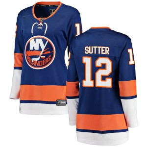 Fanatics Branded Duane Sutter New York Islanders Women's Breakaway Home Jersey - Blue