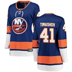 Fanatics Branded Dmytro Timashov New York Islanders Women's Breakaway Home Jersey - Blue