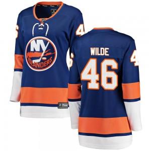 Fanatics Branded Bode Wilde New York Islanders Women's Breakaway Home Jersey - Blue