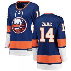 Fanatics Branded Travis Zajac New York Islanders Women's Breakaway Home Jersey - Blue