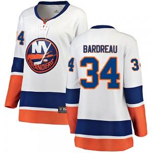 Fanatics Branded Cole Bardreau New York Islanders Women's Breakaway Away Jersey - White