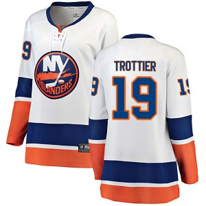 Fanatics Branded Bryan Trottier New York Islanders Women's Breakaway Away Jersey - White