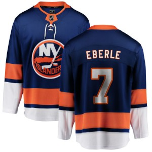 Fanatics Branded Jordan Eberle New York Islanders Men's Home Breakaway Jersey - Blue