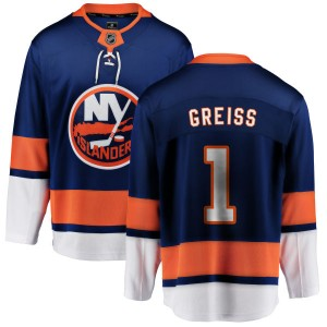Fanatics Branded Thomas Greiss New York Islanders Youth Home Breakaway Jersey - Blue