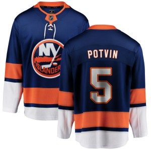 Fanatics Branded Denis Potvin New York Islanders Youth Home Breakaway Jersey - Blue