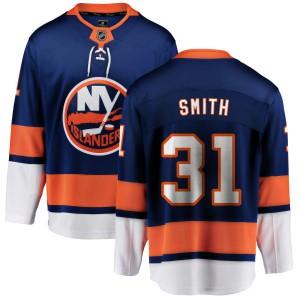 Fanatics Branded Billy Smith New York Islanders Men's Home Breakaway Jersey - Blue