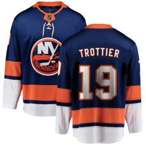 Fanatics Branded Bryan Trottier New York Islanders Men's Home Breakaway Jersey - Blue