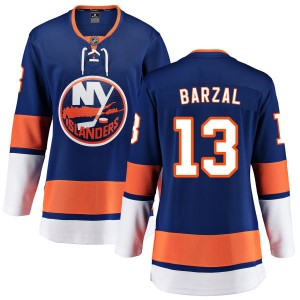 Fanatics Branded Mathew Barzal New York Islanders Women's Home Breakaway Jersey - Blue