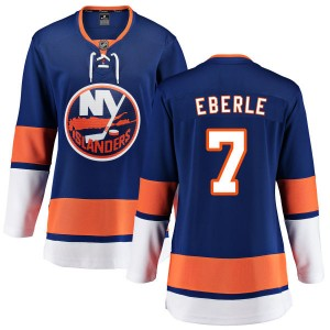 Fanatics Branded Jordan Eberle New York Islanders Women's Home Breakaway Jersey - Blue