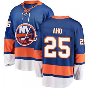 Fanatics Branded Sebastian Aho New York Islanders Youth Breakaway Home Jersey - Blue