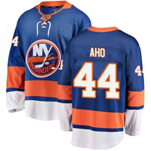 Fanatics Branded Sebastian Aho New York Islanders Youth Breakaway Home Jersey - Blue