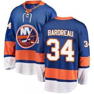 Fanatics Branded Cole Bardreau New York Islanders Youth Breakaway Home Jersey - Blue