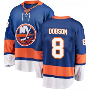 Fanatics Branded Noah Dobson New York Islanders Youth Breakaway Home Jersey - Blue