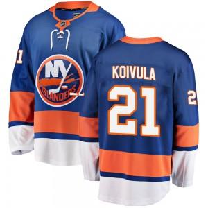 Fanatics Branded Otto Koivula New York Islanders Youth ized Breakaway Home Jersey - Blue