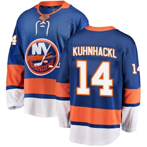 Fanatics Branded Tom Kuhnhackl New York Islanders Youth Breakaway Home Jersey - Blue