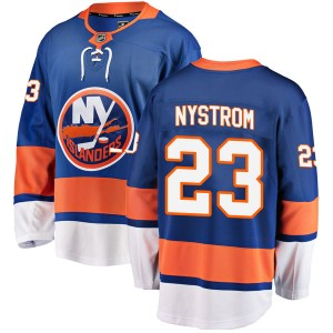 Fanatics Branded Bob Nystrom New York Islanders Youth Breakaway Home Jersey - Blue