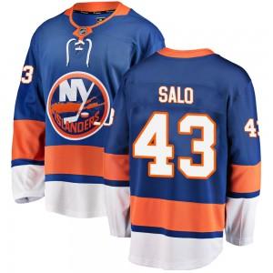 Fanatics Branded Robin Salo New York Islanders Youth Breakaway Home Jersey - Blue