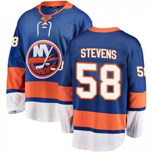 Fanatics Branded John Stevens New York Islanders Youth Breakaway Home Jersey - Blue