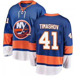 Fanatics Branded Dmytro Timashov New York Islanders Youth Breakaway Home Jersey - Blue