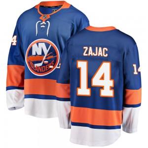 Fanatics Branded Travis Zajac New York Islanders Youth Breakaway Home Jersey - Blue