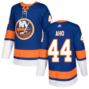 Adidas Sebastian Aho New York Islanders Men's Authentic Home Jersey - Royal
