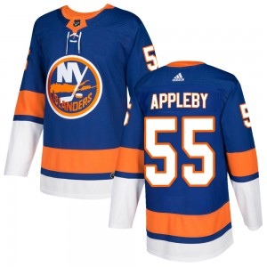 Adidas Kenneth Appleby New York Islanders Men's Authentic Home Jersey - Royal