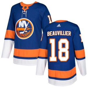 Adidas Anthony Beauvillier New York Islanders Men's Authentic Home Jersey - Royal