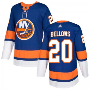 Adidas Kieffer Bellows New York Islanders Men's Authentic Home Jersey - Royal