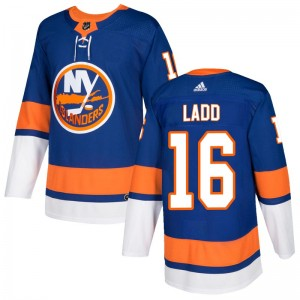 Adidas Andrew Ladd New York Islanders Men's Authentic Home Jersey - Royal