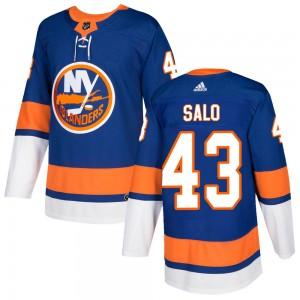 Adidas Robin Salo New York Islanders Men's Authentic Home Jersey - Royal