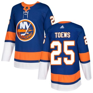 Adidas Devon Toews New York Islanders Men's Authentic Home Jersey - Royal