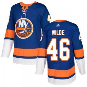 Adidas Bode Wilde New York Islanders Men's Authentic Home Jersey - Royal