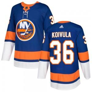 Adidas Otto Koivula New York Islanders Youth Authentic Home Jersey - Royal