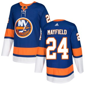 Adidas Scott Mayfield New York Islanders Youth Authentic Home Jersey - Royal