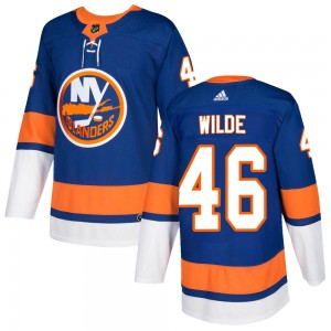 Adidas Bode Wilde New York Islanders Youth Authentic Home Jersey - Royal