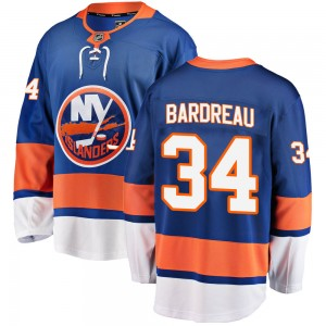 Fanatics Branded Cole Bardreau New York Islanders Men's Breakaway Home Jersey - Blue