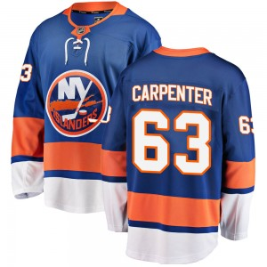Fanatics Branded Bobo Carpenter New York Islanders Men's Breakaway Home Jersey - Blue