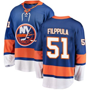 Fanatics Branded Valtteri Filppula New York Islanders Men's Breakaway Home Jersey - Blue